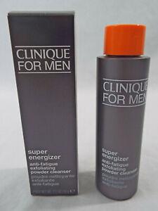 Clinique Mens Super Energizer Anti-Fatique Exfoliating Powder Cleanser 1.7 oz