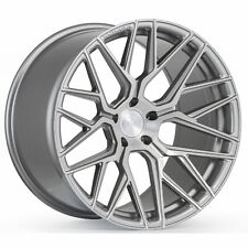 "20"" ROHANA RFX10 BRUSHED TITANIUM WHEELS FOR LEXUS GS350 GS450 20X9 20X10"