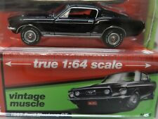 1967 67 BLACK FORD MUSTANG GT FASTBACK RAVEN 3000 5 AW AUTO WORLD