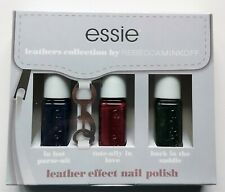 Essie Leathers Collection by Rebecca Minkoff Leather Effect Nail Polish Set