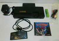 NEC TurboGrafx 16 System Console Complete w/ Keith Courage Game + AV!! Tested