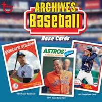 2018 Topps Archives Baseball Cards Pick From List 1-200 (Includes Rookies)