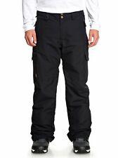 Quiksilver Mens Snowboarding Skiing Porter Pants - Black