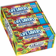 Life Savers Share Size Gummies 5 Flavors, Candies 4.2 oz, 15 ct Bags