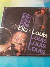 "Ella & Louis MFP 1296 12"" LP Ella Fitzgerald & Louis Armstrong Vinyl 1967"