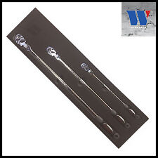 """Werkzeug - Extra Long Flexi Head Ratchet Set 1/2, 3/8 & 1/4"""" 72 Tooth, Pro 11126"""