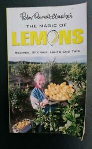 The Magic of LEMONS by Peter Russell-Clarke * recipes hints etc sc book 2000