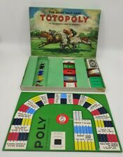 Vintage TOTOPOLY Board Game Waddingtons 1949 -The Great Race Game Horse-racing