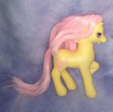 G2 My Little Pony Sky Skimmer G2 Yellow Pink Butterfly Symbol 1997 Hasbro