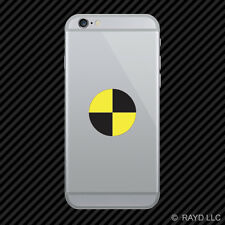 Crash Test Target Symbol Cell Phone Sticker Mobile