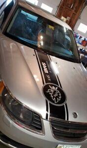 SAAB Turbo, Convertible, Aero, Turbo X Saab 9-3 Saab 9-5 Hood Decal Stripes