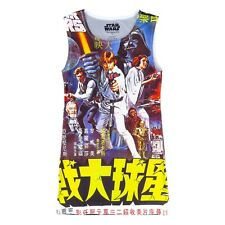 Star Wars by Her Universe Sleeveless Dress Size L Skywalker Vader Poster Top