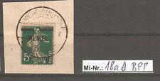 Memelgebiet  Mi-Nr.: 18 a  sauber auf Briefstück geprüft Huylmans.BPP