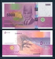 [96075] Comores 2006 5000 Francs Bank Note UNC P18a