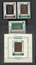 Aden Kathiri State of Seiyun 1968 Minr 220-222 B + Bl 22 B **/mnh gold art 105 €