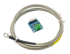 DELUXE MAX31855 w/ Type K Thermocouple Temperature Sensor Module Shield Arduino