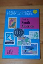 Weeda Literature: Stanley Gibbons Part 20: South America, 1980 Edition