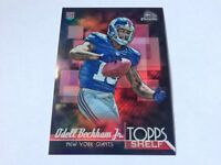 Odell Beckham Jr. 2014 Bowman Chrome Topps Shelf Rookie Refractor #TSR-OB Giants