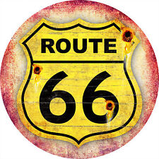 260 x 260mm Metal Sign route 66 distressed gift the mother road
