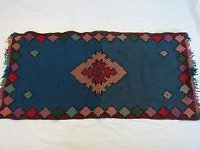 ANTIQUE Tapestry Rug Handmade Needlepoint TEPPICH TAPIS Wall Wool Bulgarian HOME