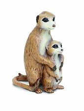 Meerkat with baby; toy/meerkat/ New/267029/Incredible Creatures/Safari Ltd