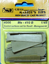 CMK CZECH MASTER'S KITS 4006 - Me - 410B CONTROL SURFACES - 1/48 RESIN KIT