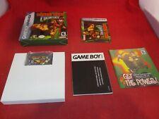 Donkey Kong Country (Nintendo Game Boy Advance, 2003) COMPLETE w/ Box manual