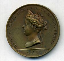 King Louis XIV and Marie-Thérèse d'Autriche 1660 by Mavger Bronze medal / M50