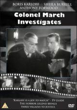 COLONEL MARCH INVESTIGATES NEW DVD BRITISH MURDER MYSTERY BORIS KARLOFF