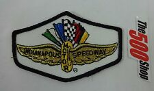 Indianapolis Motor Speedway Wings, Wheel & Flags Embroidered logo Sew On Patche