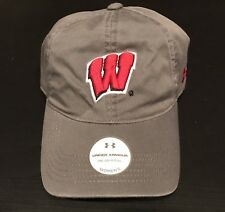 cheap for discount d9161 faa52 Wisconsin Badgers Under Armour UA Adjustable Hat OSFA NWT Women s NWT