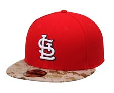 St Louis Cardinals New Era 59Fifty 2015 Memorial Day Camo 7 5/8 Fitted Cap Hat