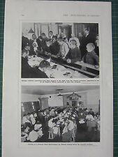 1915 WWI WW1 PRINT INMATES RUSSIAN STATE REFORMATORY FOR WOMEN REFUGEE CHILDREN