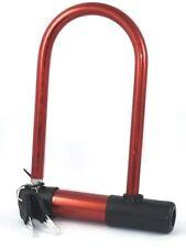 Universal Bike Lock Bicycle Cycling Steel U-lock Security with 2 Keys