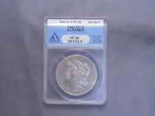 1892 - CC Morgan Silver Dollar | ANACS VF20 Cleaned | Carson City