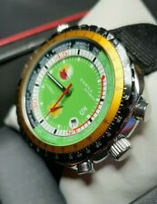 Vintage SORNA World timer automatic watch diver.