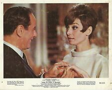 "ELI WALLACH & AUDREY HEPBURN in ""How to Steal a Million"" Original Vintage 1966"