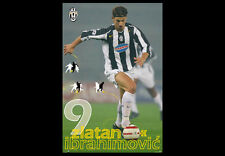 Classic ZLATAN IBRAHIMOVIC 2005 Juventus FC Vintage Original Italian POSTER
