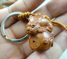Hand-carved brave troops  Wooden Crafts,Key Chain,Key Ring Lover w3