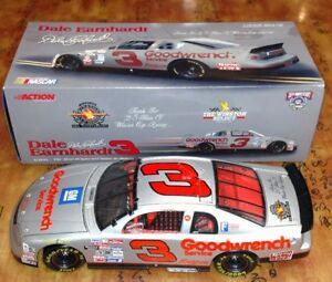 NASCAR ACTION DALE EARNHARDT#3 1/18 SCALE THANKS FOR 25 YEARS