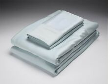 New Home Source Sky King Bed 250 Thread Count Bamboo Flat & Fitted Sheets Set