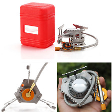 Mini 3500W Portable Outdoor Cooking Burner Folding Camping BBQ Gas Stove Cooker
