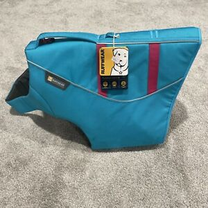 Ruffwear Float Coat Dog Life Jacket Sz XL Blue Atoll | NWT - Has Marks *See Pics