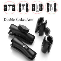 Double Socket Arm for Ball Bases Go'pro Camera Phone Holder Ram Mount-~