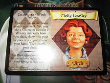 HARRY POTTER TCG CARD CHAMBER OF SECRETS MOLLY WEASLEY 17/140 RARE MINT ENGLISH