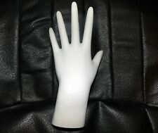 """White Polystyrene Hand Display able to Stand up or Lay Down 8"""""""