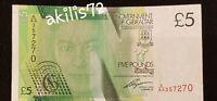 5 Pound Gibraltar 2011