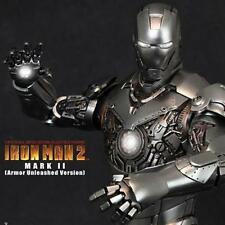IRONMAN 2 IRON MAN MARK MK II UNLEASHED VER HOTTOYS HOT TOYS FIGURE EV AQ2145