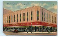 Birmingham Alabama AL Woolworth Co Store Vintage Postcard E52