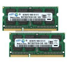 Samsung 4GB 8GB Sodimm Memória Notebook Para DDR3 1333 MHz 2RX8 PC3-10600S 204Pin
